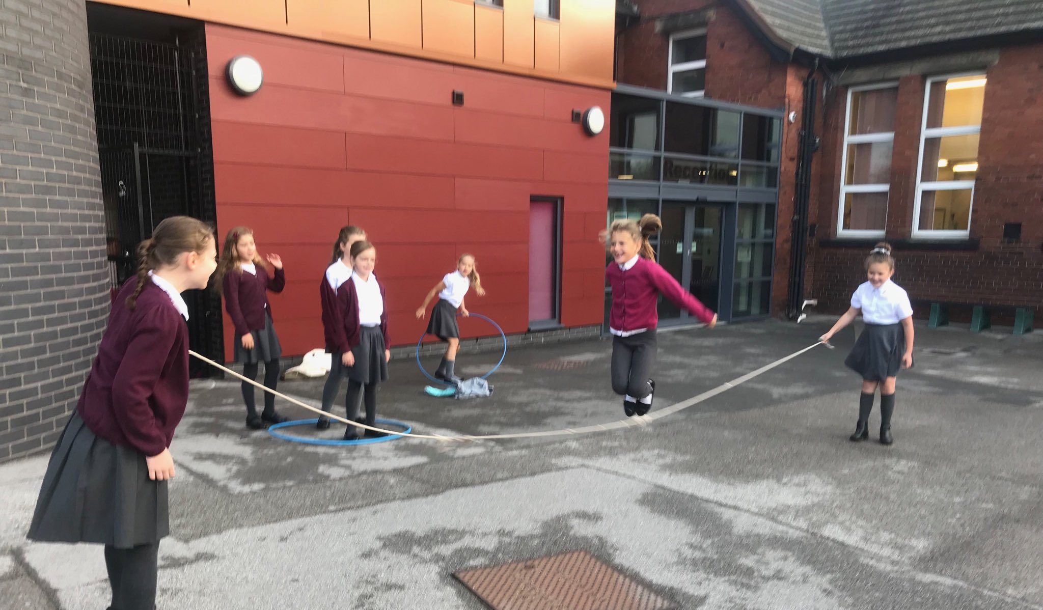 Playground Leaders and Personal Challenge